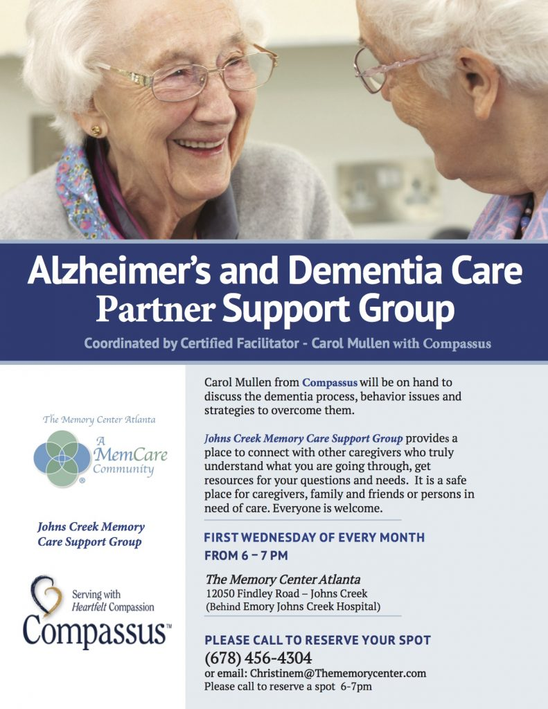 dementia support group atlanta