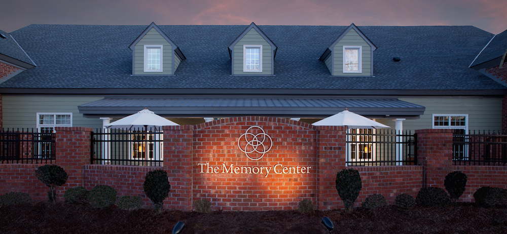Exterior view of the Alzheimer's and dementia care facility in Virginia Beach, VA