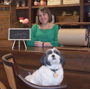 Karen And Dog Happy