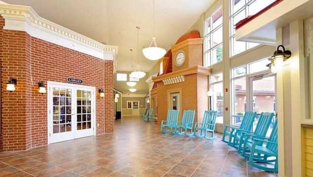 Interior view of the Alzheimer's and dementia care facility in Richmond, VA