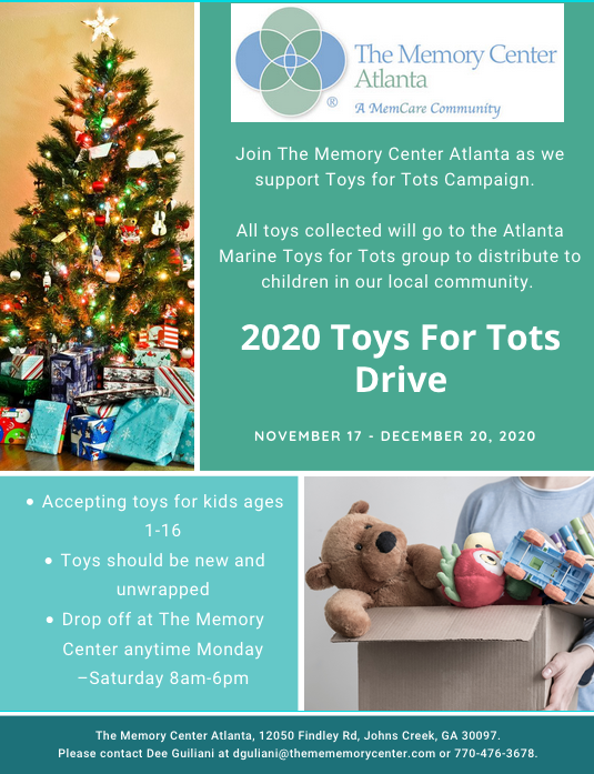 atlanta toys for tots drive